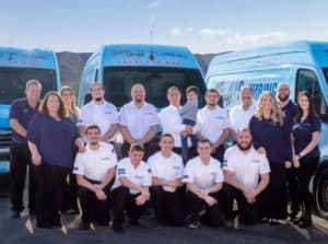 Steve Huff plumbing team